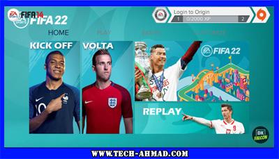 تحميل لعبة فيفا 2022 للاندرويد بدون نت نسخة بطولة اليورو من ميديا فاير