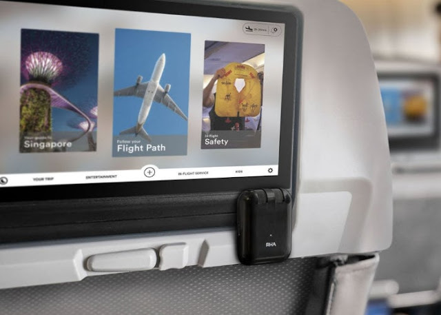 RHA Wireless Flight Adapter lets you wirelessly connect to in-flight entertainment