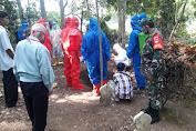 Pemakaman Sesuai Protokol Covid-19 Dilaksanakan Kepada PDP di Desa Jetis