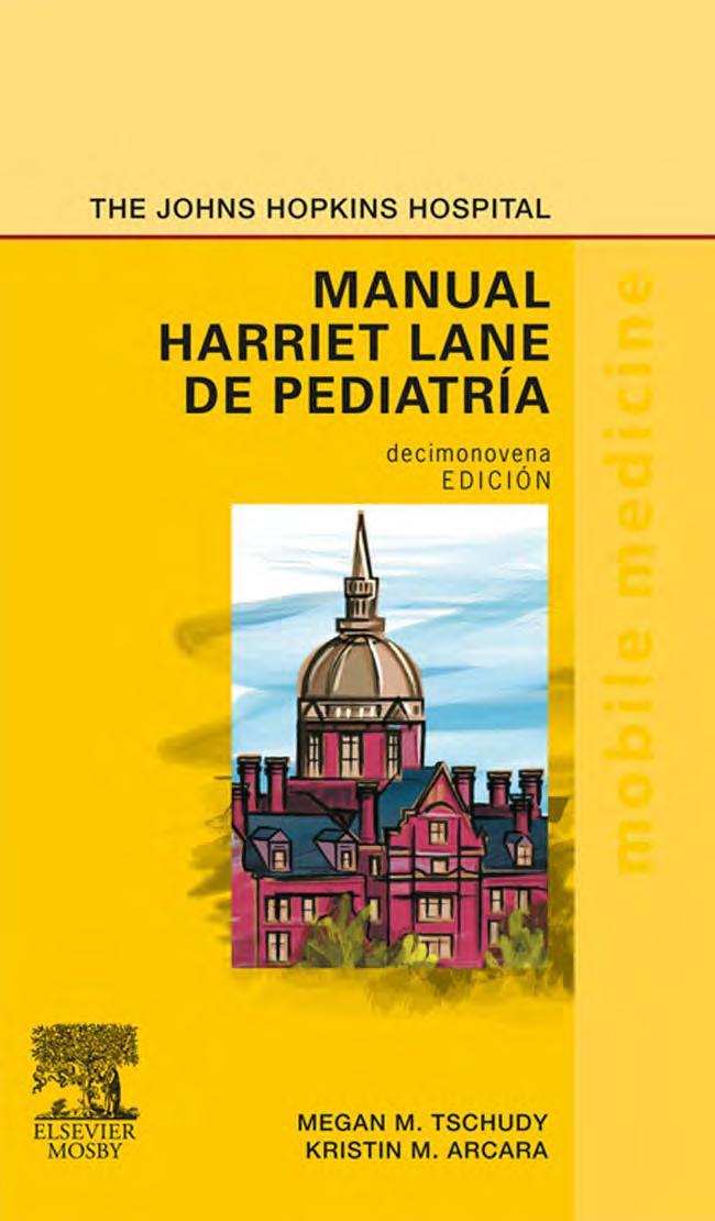 Manual Harriet Lane de pediatría, 19va Edición – Megan M. Tschudy