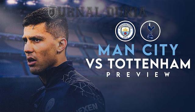 Prediksi Manchester City vs Tottenham Hotspur , Minggu 14  Februari 2021 Pukul 00.30 WIB @Mola TV