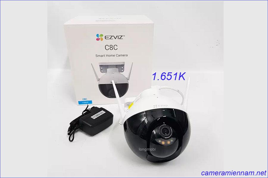 camera wifi Speed done Ezviz C8C