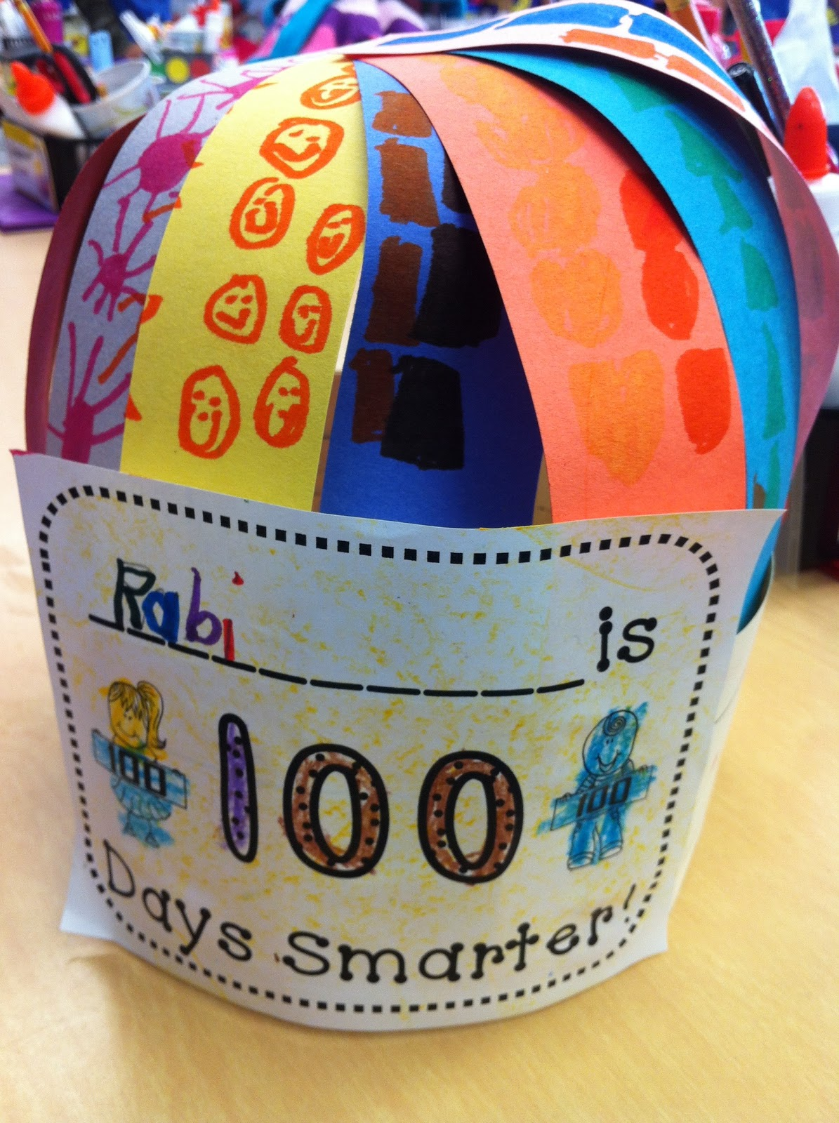 100th day hat template - search results for 100 day activities for kindergarten