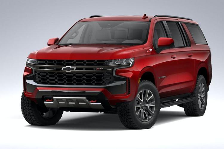 Chi tiết Chevrolet Suburban Z71 2021 từ 1,47 tỷ đồng tại Mỹ