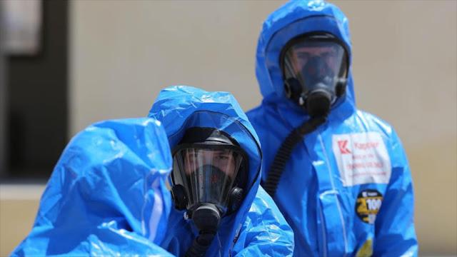 EEUU y Jordania maniobran contra ataques químicos y nucleares