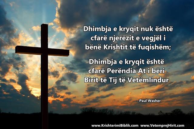 kryqi, paul washer shqip, thenie biblike te krishtera,