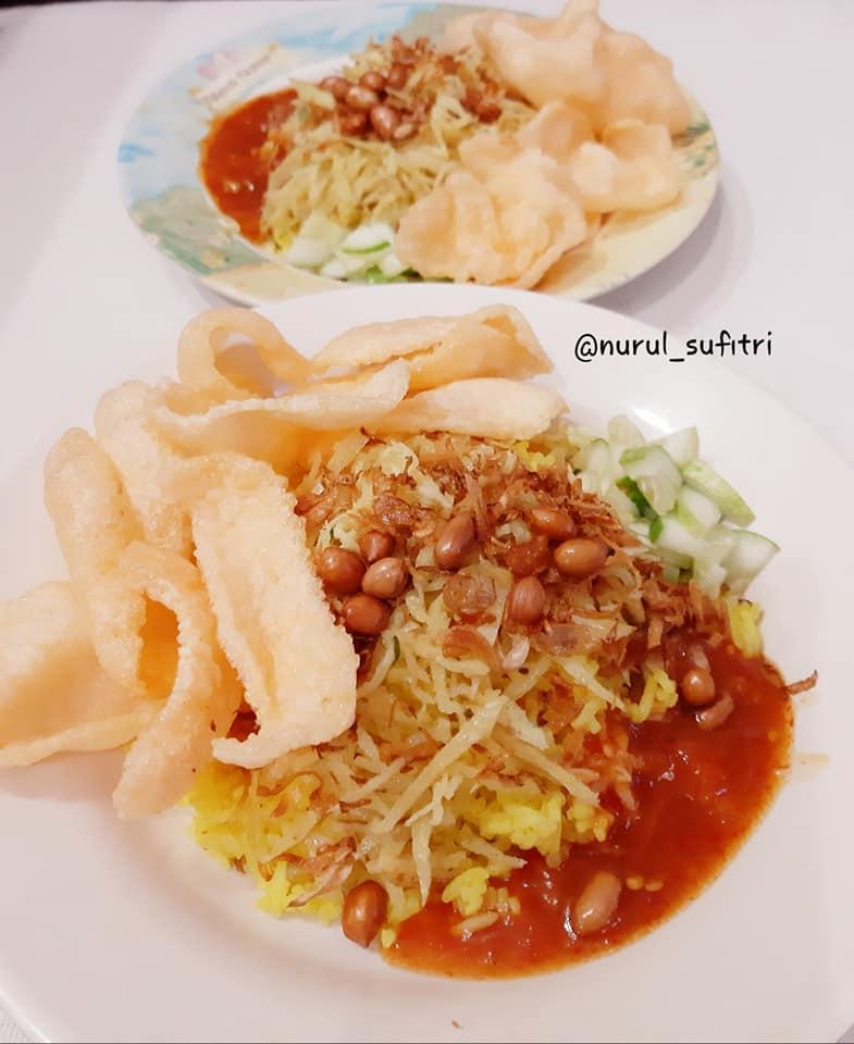 Nasi Kuning ala Abang-abang yang Lewat di Depan Rumahku Nurul Sufitri Travel Lifestyle Blog