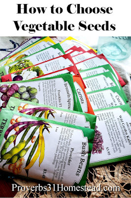 How to Choose Vegetable Seeds