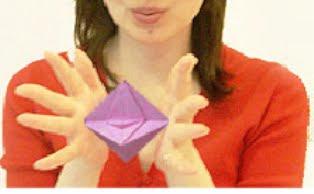 fly wheel 3 origami