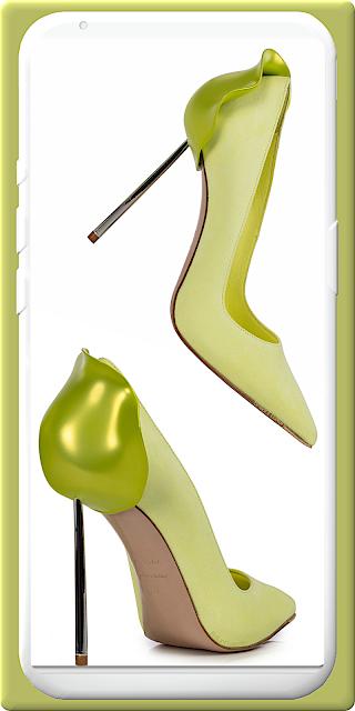 Le Silla Petalo yellow green suede pump #lesilla #shoes #brilliantluxury