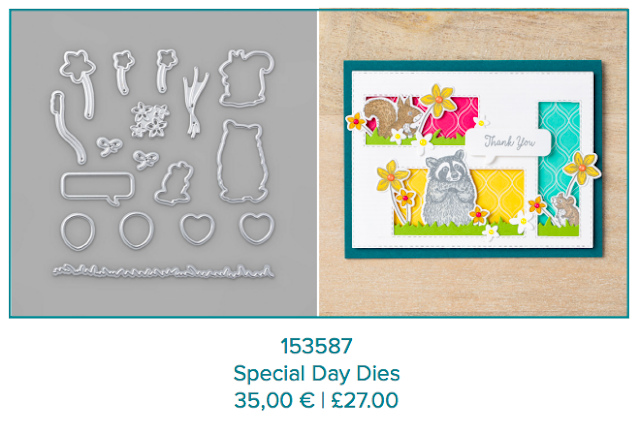 Special Day dies Stampin Up