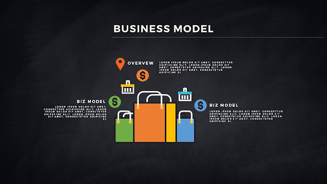 Infographic Business Model Presentation for PowerPoint Template Slide 5