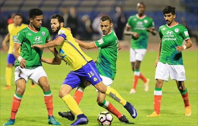 مشاهدة مباراة النصر السعودي والاتفاق
