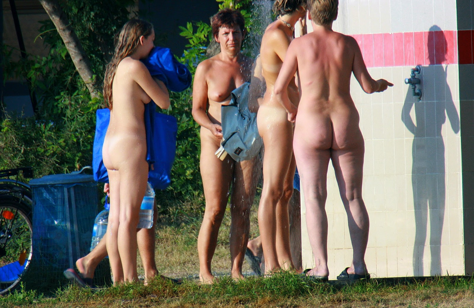 Shower Nude Beach