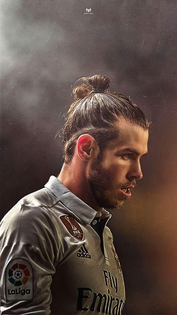 gaya rambut Gerald Bale pemain sepak bola real madrid
