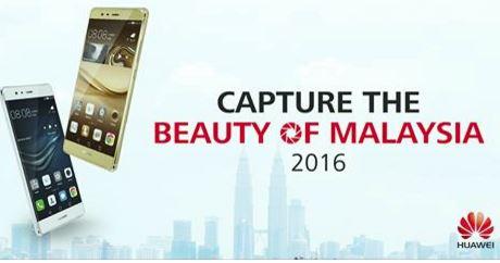 Menang Smartphone Huawei P9 2016