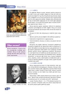9. Sınıf Kimya Ders Kitabı Cevapları Sonuç Yayınları Sayfa 16
