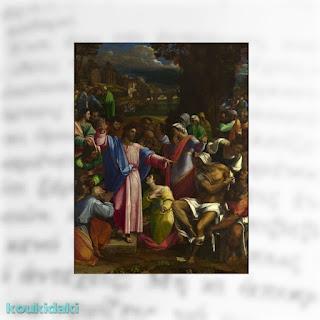 The Raising of Lazarus, Sebastiano del Piombo, 1517-19