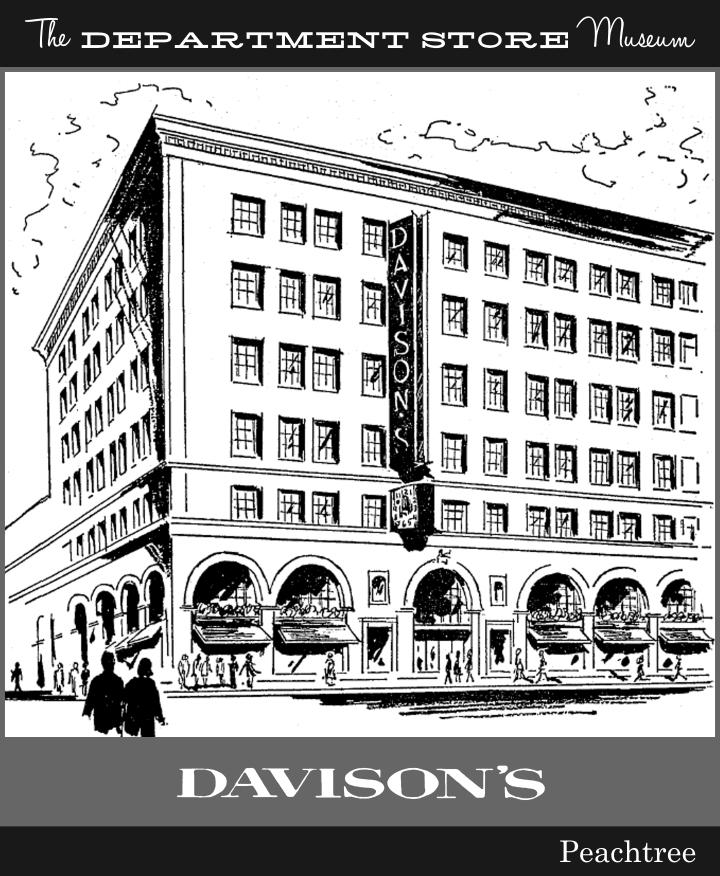 Davison's Department Store : davison's, department, store, Department, Store, Museum:, Davison-Paxon, Atlanta