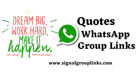 Quotes & Motivational WhatsApp Group Links