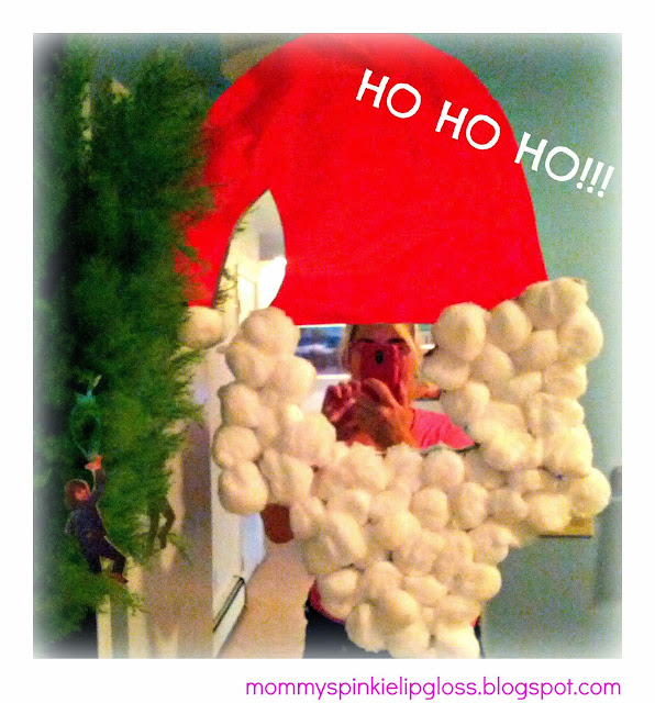 Santa Claus Craft, easy Christmas Craft from MommysPinkieLipgloss.blogspot.com