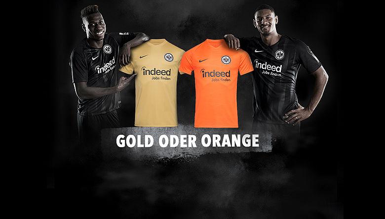 a8d64a569a Eintracht Frankfurt abre votação para escolha da cor da sua camisa para 2019