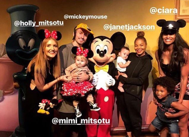 Dounble Date! Janet Jackson, Ciara Take Their Kids To Disneyland