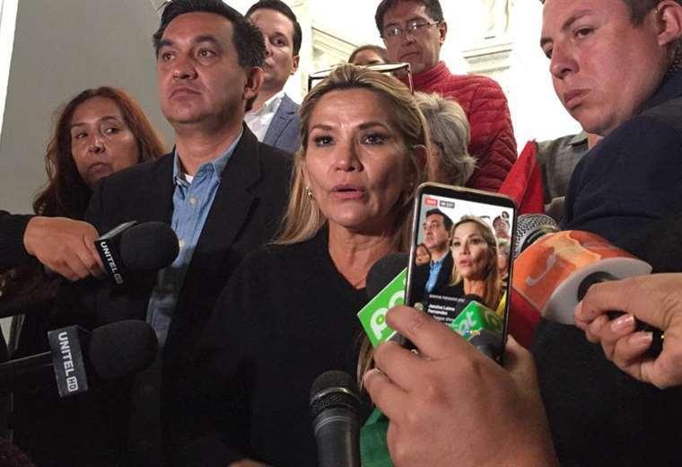 Añez asumió la cabeza del Legislativo / EL DEBER