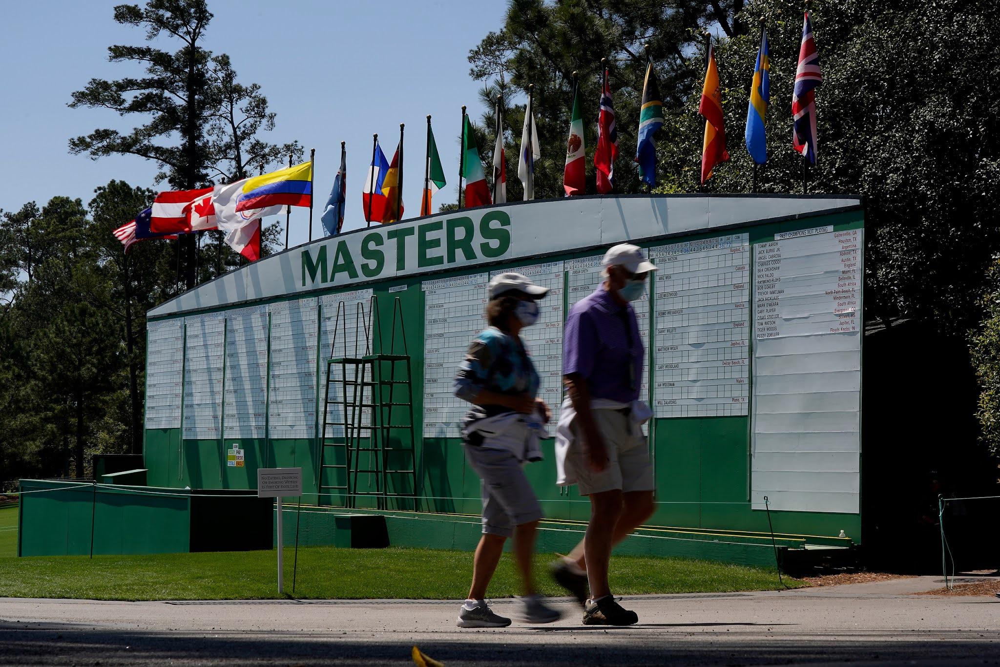 El Masters de Augusta arranca con más de 80 golfistas