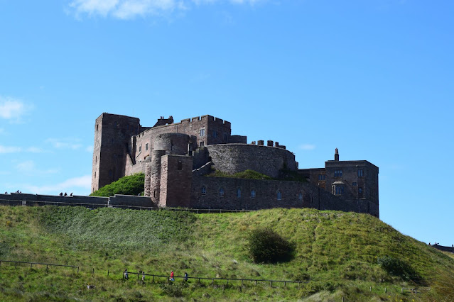 Exploring Bamburgh, Bamburgh Castle