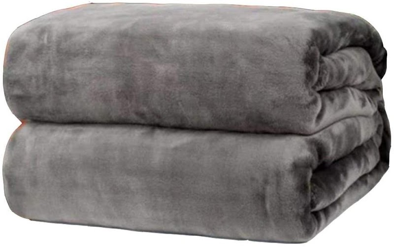 80%  off Ultra Soft Flannel Blanket,Sofa Bed Living Room Bedroom Multi-Function Light Weight Blanket Throws