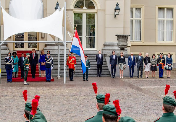 President of Republic of Mozambique Filipe Nyusi and his wife Isaura Gonçalo Ferrao Nyusi are presently in Netherlands