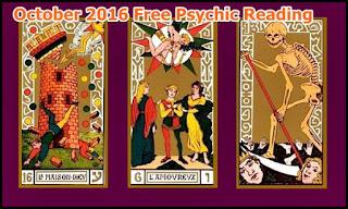 October 2016 Psychic Reading Virgo, Scorpio, Sagittarius, Capricorn, Aquarius, Pisces
