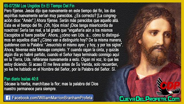 Este es el tiempo del fin - William Branham en Español