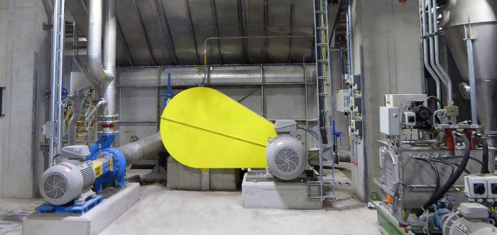 Máquina de desintegración de papel conocida como Pulper