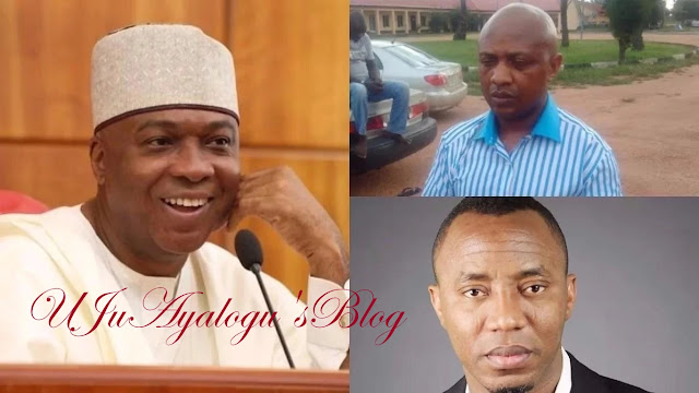 Political criminal like Saraki makes free Evans campaign possible - Popular media attacks Senate President