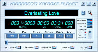 VanBasco'S Karaoke Player V2 53 - Free Download Software