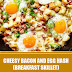Cheesy Bacon and Egg Hash (Breakfast Skillet) Ready in 30 Minutes