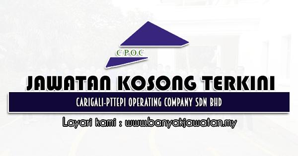 Jawatan Kosong 2021 di Carigali-PTTEPI Operating Company Sdn Bhd