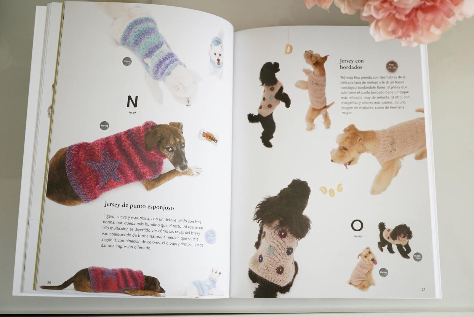 Prendas de punto para Perros [Aprende a tejer jerséis y accesorios ...