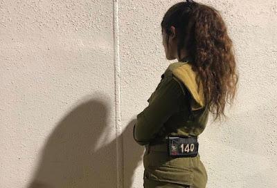 Recruta da IDF 19 anos, se manifesta após parar a infiltração na fronteira com o Líbano