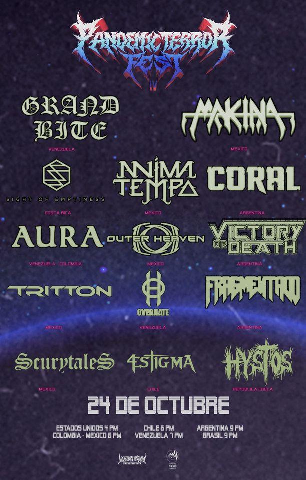 Conheça as bandas: Pandemic Terror Fest 4