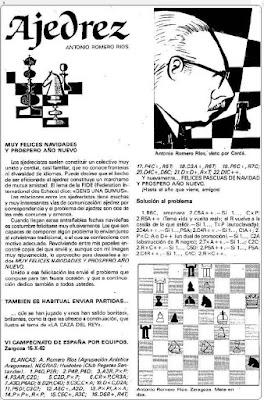 Caricatura de Antonio Romero Ríos
