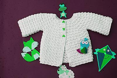 5 - Crochet Imagen Chambrita a crochet muy fácil y sencilla por Majovel Crochet
