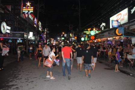bangla street, phuket, backpacker