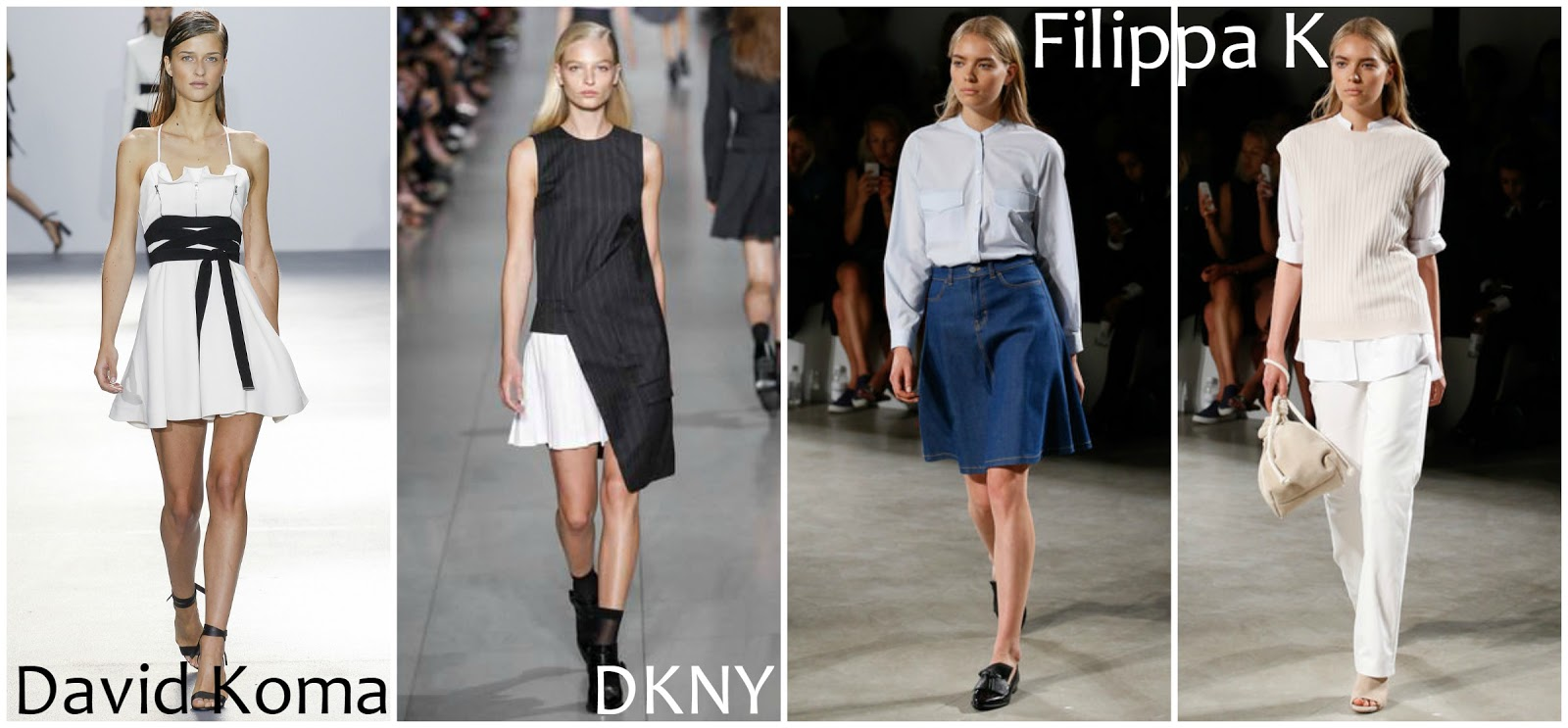 David Kome DKNY Filippa K runway fashion