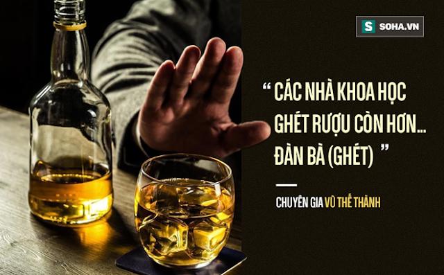 Các nhà khoa học nói gì về rượu