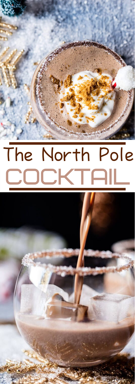 The North Pole Cocktail #drinks #cocktails #alcohol #christmas #winter