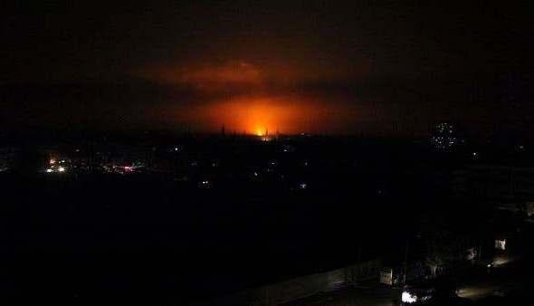 Ledakan Pipa Gas Suriah Sebabkan Pemadaman Total