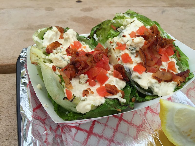 Grilled wedge salad at Joe's Farm Grill